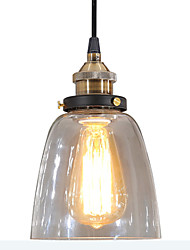 60 Pendant Light ,  Modern/Contemporary Vintage Country Electroplated Feature for LED GlassLiving Room Bedroom Dining Room Study