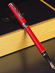 900 Art Business Steel Pen Fashion Iridium Gold Pen Gift Box