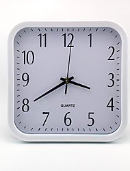 Modern/Contemporary / Casual / Office/Business Family / Birthday Wall Clock,Rectangular / Novelty Metal / Plastic Indoor Clock