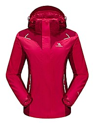 Camel Women's Interchange 3-in-1 Active Waterproof Outdoor Sports Jacket Color Red/Blue