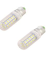 2W E26/E27 Ampoules Maïs LED T 24 SMD 5730 150 lm Blanc Chaud Décorative AC 100-240 V 2 pièces