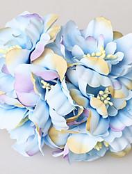 романтический пастырской стиль венок украшение украшения имитация ткани вишня