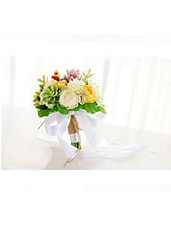 Fleurs de mariage Forme libre Pivoines Bouquets Le Party / soirée Elasthanne 50cm