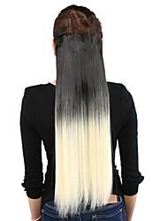 """neitsi® 110г 22 """"полный глава 5clips Kanekalon синтетические части волос клип в / на прямых продолжений Т-60 #"""