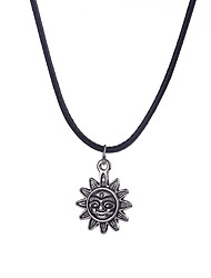 Women's Pendant Necklaces Jewelry Sterling Silver Flower Flower Style Fashion Silver Jewelry Daily 1pc
