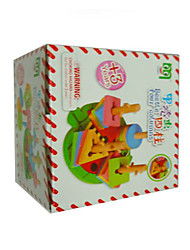 Building Blocks For Gift  Building Blocks Square Wood 2 to 4 Years / 5 to 7 Years / 8 to 13 Years Rainbow Toys