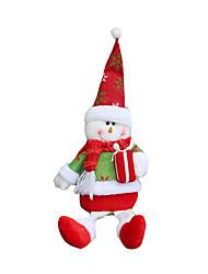 Jouets de Noël Sacs à cadeau Déco de Célébrations 2 Noël Tissu Rouge Vert
