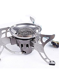 Stainless Steel Copper Stove Single Camping BBQ Hiking Outdoor Picnic