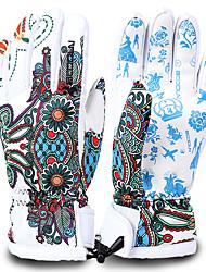 Ski Gloves Full-finger Gloves Women's / Men's Activity/ Sports GlovesKeep Warm / Anti-skidding / Waterproof / Windproof / Snowproof /