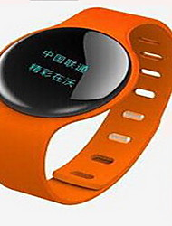 Smart BraceletWater Resistant/Waterproof / Long Standby / Calories Burned / Pedometers / Exercise Log / Health Care / Sports / Heart Rate