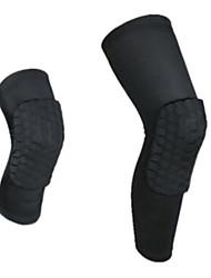 Coxa Brace Equipamento de proteção Ski Respirável / Compressão / Protecção Esqui / Fitness / Ciclismo / bicicleta Unissex PoliésterBranco