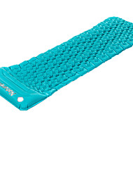 Breathability Sleeping Pad Blue Camping PVC