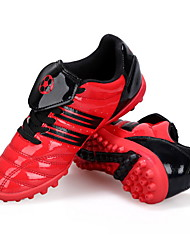 Soccer Shoes Kid's Anti-Slip / Anti-Shake/Damping / Wearproof / Breathable PVC Leather Mesh Football Lace-up