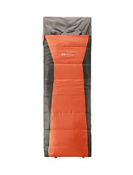Schlafsack Rechteckiger Schlafsack Einzelbett(150 x 200 cm) -15-5 Hohlbaumwolle 400g 190X75 Wandern Camping Reisen Jagd Draußen