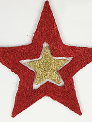 Christmas Decorations / Christmas Party Supplies Holiday Supplies / Metal Red / Gold Above 3