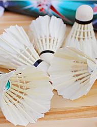 Bola de Badminton( DEPenas de Ganso,Branco