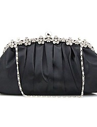 Women Satin Formal Casual Event/Party Wedding Outdoor Office & Career Professioanl Use Evening Bag