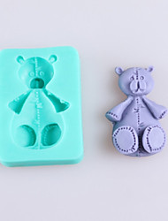 Bear Shaped Fondant Cake Chocolate Silicone Molds,Decoration Tools Bakeware
