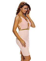 Women's Off-the-shoulder Midi Dress