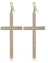 Earrings Alloy Cross Jewelry Party 1 pair
