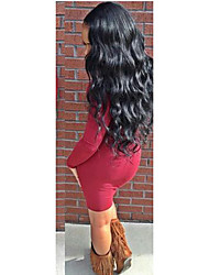 7A 120% Density Full Lace Human Hair Wigs Brazilian Virgin Body Wave For Black Women Full Lace Wigs Natural Color