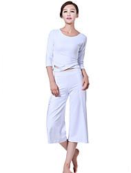 Yoga Ensemble de Vêtements/Tenus Confortable Haute élasticité Vêtements de sport FemmeYoga