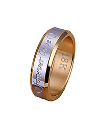 Everlasting love steel ring men Jewelry Christmas Gifts