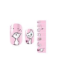 14PCS Nail Art Stickers A Series NO.1029