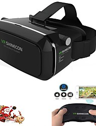 Google Cardboard VR  Virtual Reality 3D Glasses With Bluetooth Wireless Remote Control Gamepad