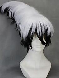Nurarihyon mago Nura Rikuo cosplay preto&peruca branca perucas novo partido moda traje peruca cosplay