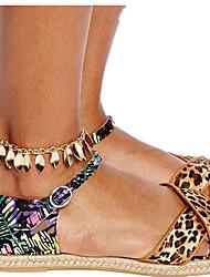 Femme Bracelet de cheville/Bracelet Alliage Mode Européen Bijoux Pour Quotidien
