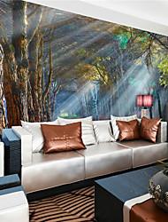 Artistico / 3D Sfondo Per la casa Contemporaneo Rivestimento pareti , Tela Materiale adesivo richiesta Murale , camera Wallcovering