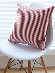 1 pcs Cotton Pillow Case,Striped Casual