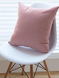 1 pcs Cotton Pillow Case,Striped Casual