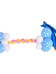 Balões Decoração Para Festas Circular Borracha Azul Para Meninos Para Meninas 2 a 4 Anos 5 a 7 Anos 8 a 13 Anos