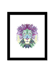 Unframed Canvas Print Abstract Modern / European Style Lion Pattern Wall Decor For Home Decoration
