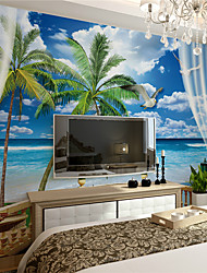 JAMMORY Art Deco XL XXL 3XL Wallpaper Canvas Stereoscopic Large Mural  Seaview Contemporary Wall Covering