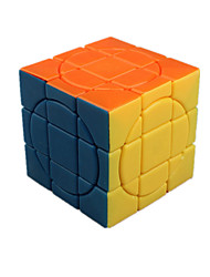 Toys Smooth Speed Cube 3*3*3 Novelty Stress Relievers Magic Cube Rainbow ABS Plastic