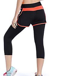 Damen Laufen Shorts/Laufshorts 3/4 Strumpfhosen/Corsaire Atmungsaktiv Rasche Trocknung Komfortabel Frühling Sommer Herbst WinterÜbung &