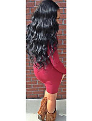 8-24 Inch Virgin Human Hair Full Lace Wig Peruvian Body Wave Glueless Full Lace Human Hair Wig