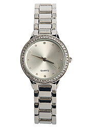 Women's Fashion Watch Quartz / Alloy Band Casual Silver Brand