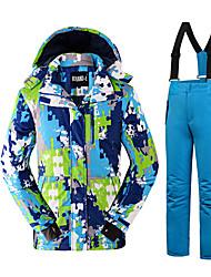 Tenue de Ski Ensemble de Vêtements/Tenus Enfant Tenue d'Hiver Polyester Mode Vêtement d'HiverRespirable Garder au chaud Confortable