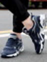sapatos de corrida