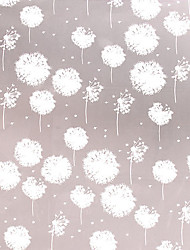 Minimalismo clássico Branca Dandelion Dreams Window Film