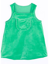 Baby Casual/Daily Solid Tank & Cami-Cotton-Fall-Green