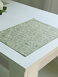 Rectangular Print Table Runner , Cotton Blend Material Hotel Dining Table / Table Decoration