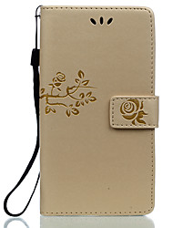 For Huawei P8 P9 Lite P9 Plus Honor 8 5C Card Holder Wallet with Stand Flip Embossed Case Full Body Case Flower Hard PU Leather Huawei G8 Honor V8 5X