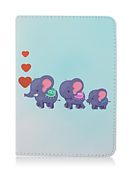 Elephant Love For Shockproof / with Stand / Auto Sleep/Wake / Magnetic / Pattern Case Full Body Case Cute Owl PU Leather iPad mini 1/2/3/4