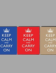 HD Print Inspirational poster Home Office Decoration Keep Calm And Carry On Stretched Frame Ready to Hang