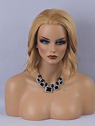 модно боб прическа естественные волнистые человеческие волосы парик фронта шнурка